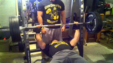 415 bench press 415 bench press seth morris youtube