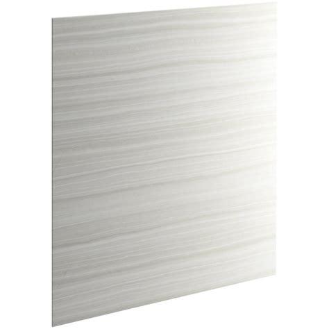 Composite Shower Wall Panels by Shop Kohler Choreograph Vein Cut Dune Fiberglass And