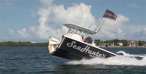 seahunter boat test is this the most indestructible boat ever made watch what