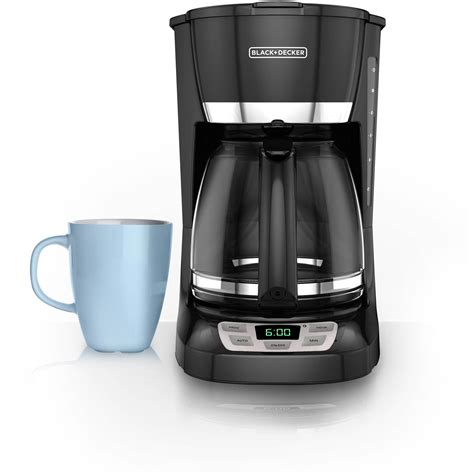 Coffee Maker Black And Decker black decker 12 cup programmable coffee maker touch