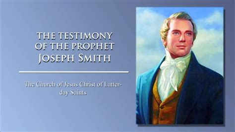joseph smith the prophet books the testimony of the prophet joseph smith asl