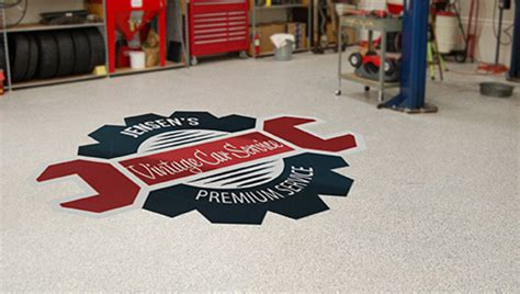 Garage Floor Decals by Custom Printed Wall Decals Trading Phrases