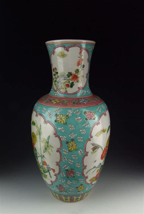 vase patterns chinese antique famille rose porcelain vase w flower