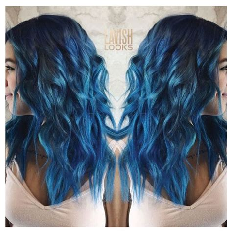 sapphire hair color my lavish looks on instagram used color intensity cobalt
