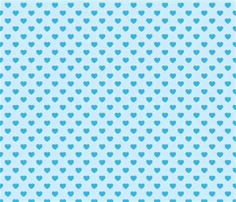pattern blue heart blue heart pattern fabric alenkas spoonflower