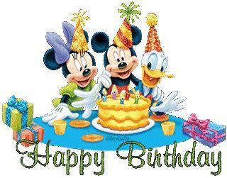 Mickey Mouse Wishing Happy Birthday The Disney Diner Happy Birthday Mickey 186 O 186