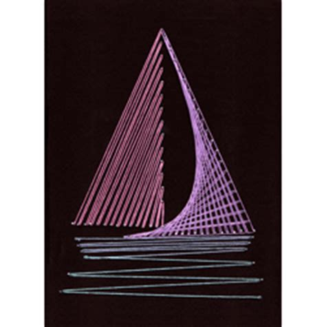 string art pattern boat why string art is the granddaddy of prick and stitch card