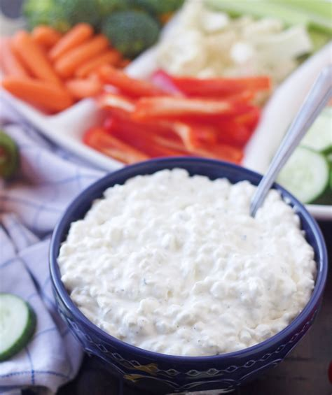 ranch cottage cheese dip 5 boys baker