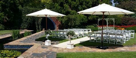 outdoor wedding reception venue melbourne garden weddings melbourne ceremony decor hire