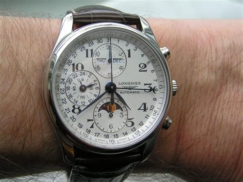 Longines Master Moonphase Chronograph reviews by mcv review of longines master collection date moonphase chronograph