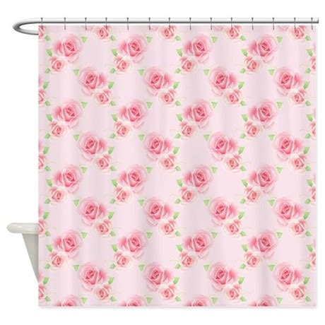 pink rose shower curtain pink roses shower curtain by alittlebitofthis1