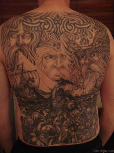 tattoo to back 59 alluring viking tattoos for back