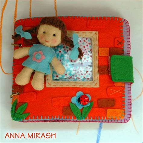 mirash crafts felt home book diy book ideas