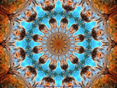 blue kaleidoscope wallpaper free wallpaper psychedelic kaleidoscope 11 ngc 6188 7 wrap fs