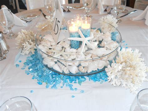 Photo of the Week: Seashell & Candle Centerpiece   Eversnap