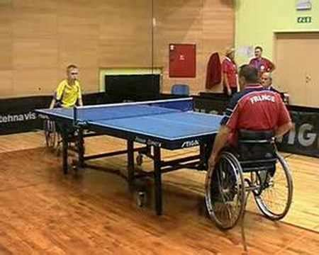 the table for disabled disabled table tennis point2