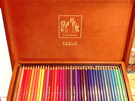 caran d ache colored pencils penccil 100 years caran d 180 ache pencils