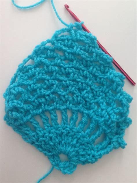 crochet pattern understanding how to crochet the pineapple stitch tutorial