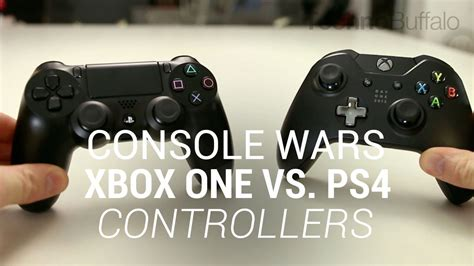 ps4 console vs xbox one console wars xbox one vs playstation 4 controllers