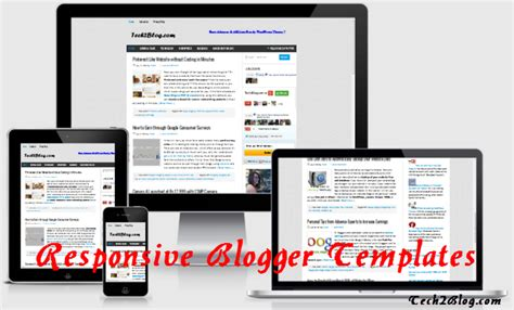 blog layout responsive 6 free tested responsive blogger templates