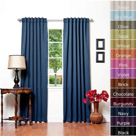 solid thermal insulated blackout curtain solid thermal insulated blackout curtain west new york