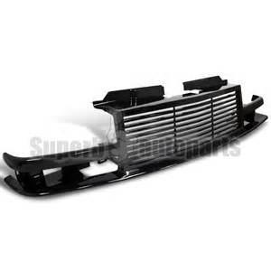 1998 2002 chevy s10 blazer front bumper grill grille
