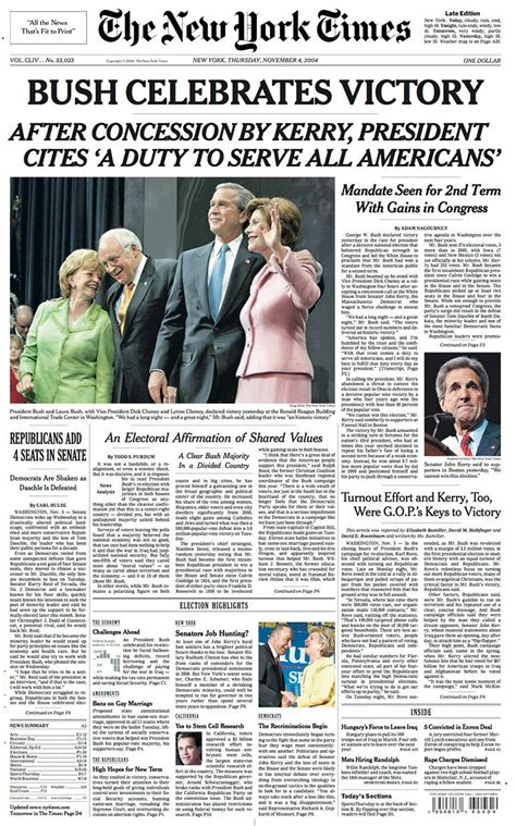 new york times front page newspaper new york times election front pages the new york times