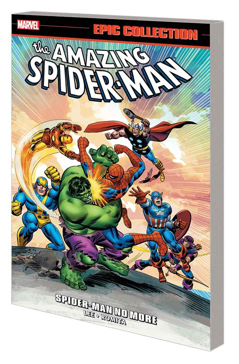 libro amazing spider man epic collection feb180947 amazing spider man epic collection spider man no more tp previews world