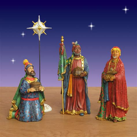 where to get life nativity set three real nativity set 17 pc 14 quot scale
