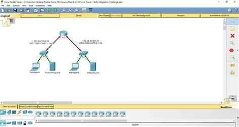 packet tracer skills integration challenge answers 7 4 1 2 8 4 1 2 packet tracer skills integration