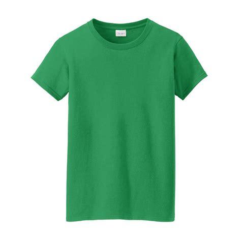 irish green gildan 5000l ladies heavy cotton t shirt irish green