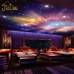 custom murals 3d nebula sky wall painting
