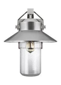 boynton fan and lighting ol13902pbs 1 light outdoor wall lantern painted brushed