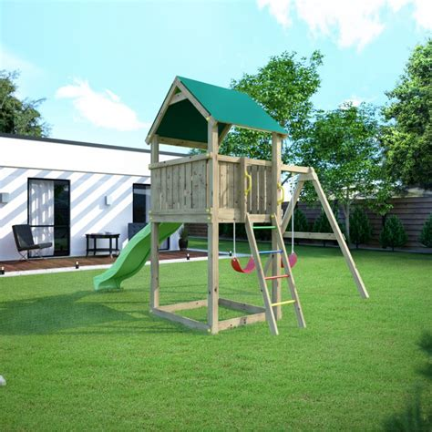 jeux de jardin en bois aire de jeux en bois trait 233 autoclave maisonnette pollux