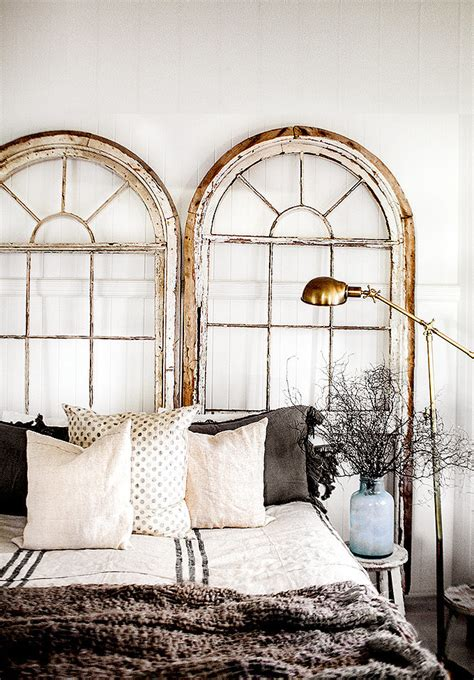 the woven home home decor projects old window picture frame convert old windows into headboards 27 brilliantly