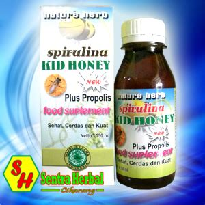 Habbats Madu Kid Honey 150 Gram gamat sentra herbal cikarang laman 2