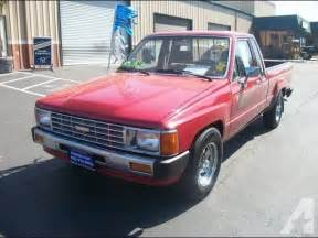 1985 Toyota Truck For Sale 1985 Toyota Deluxe For Sale In Pittsburg