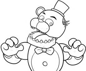 fnaf coloring pages freddy free coloring pages of fnaf animatronic