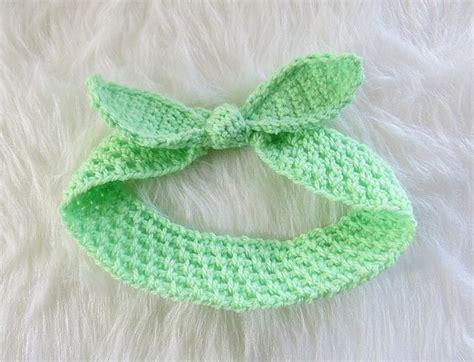 crochet pattern central headbands 15 adorable baby accessory crochet patterns