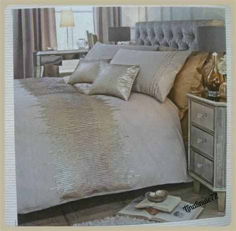 sequin bedding set bnip next gold ombre sequin king size bed set house