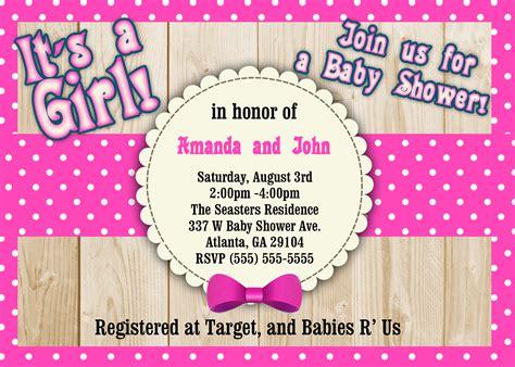 Polka Dots Baby Shower by Polka Dot Baby Shower Invitations Kustom Kreations