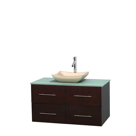 green vanity bathroom wyndham collection wcvw00942sesgggs2mxx centra 42 inch