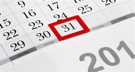 A Calendar Year Ends How To End This Month And Start Next Month Right