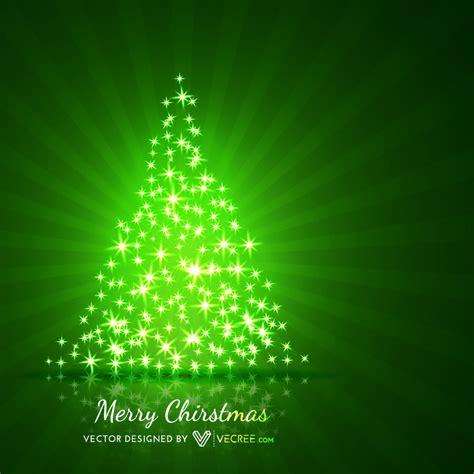 193 rbol de navidad en forma de estrellas brillantes fondo