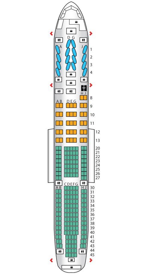 777 cabin layout cabin b777 200 american airlines seat