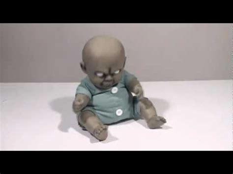 How To Make A Zombie Baby Youtube   the wiggler zombie baby spirit halloween youtube