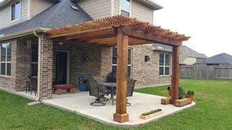 Patio Overhang Designs by 22 Patio Cover Designs Ideas Plans Design Trends