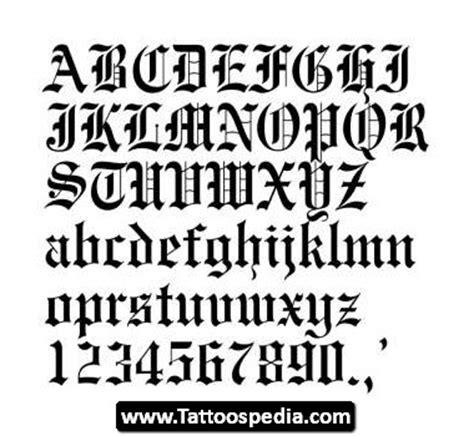 tattoo writing generator old english english writing