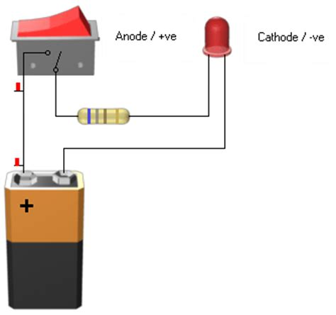 how emitting diodes work what is a light emitting diode led what wiring diagram and circuit schematic