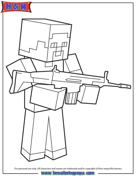 minecraft steve coloring pages free best ideas about minecraft herobrine minecraft party and